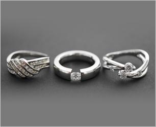 ダイヤモンドのお買取の一例